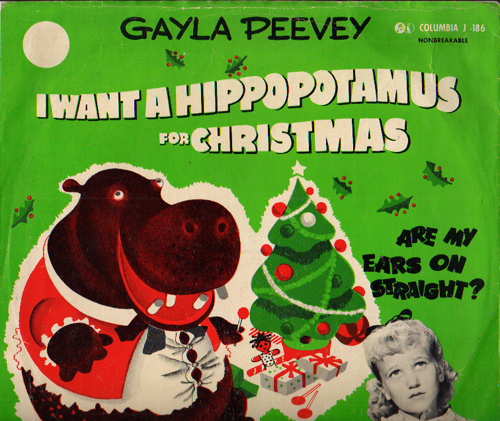 i want a hippopotamus for christmas band songs