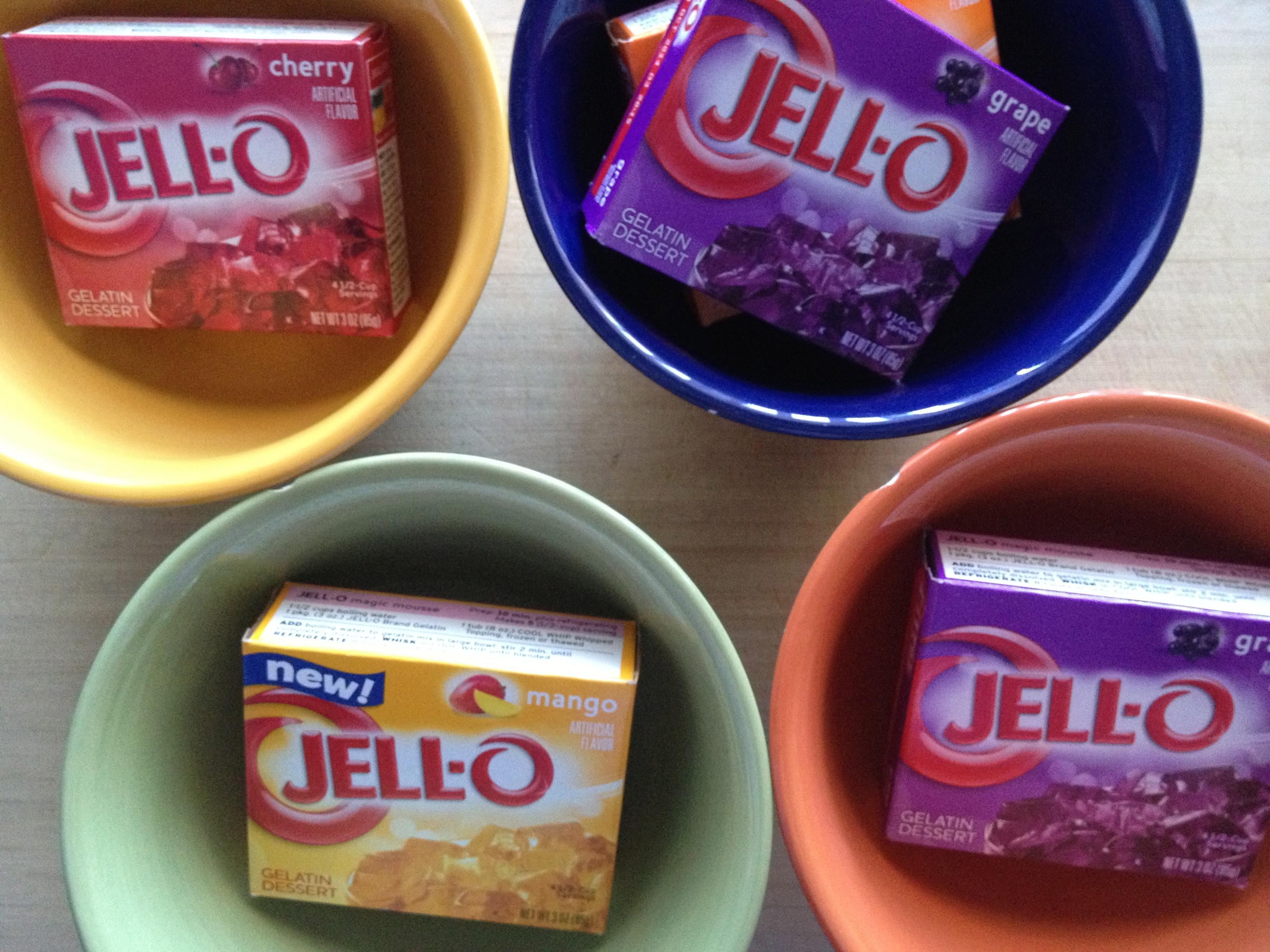 how to make purple jello